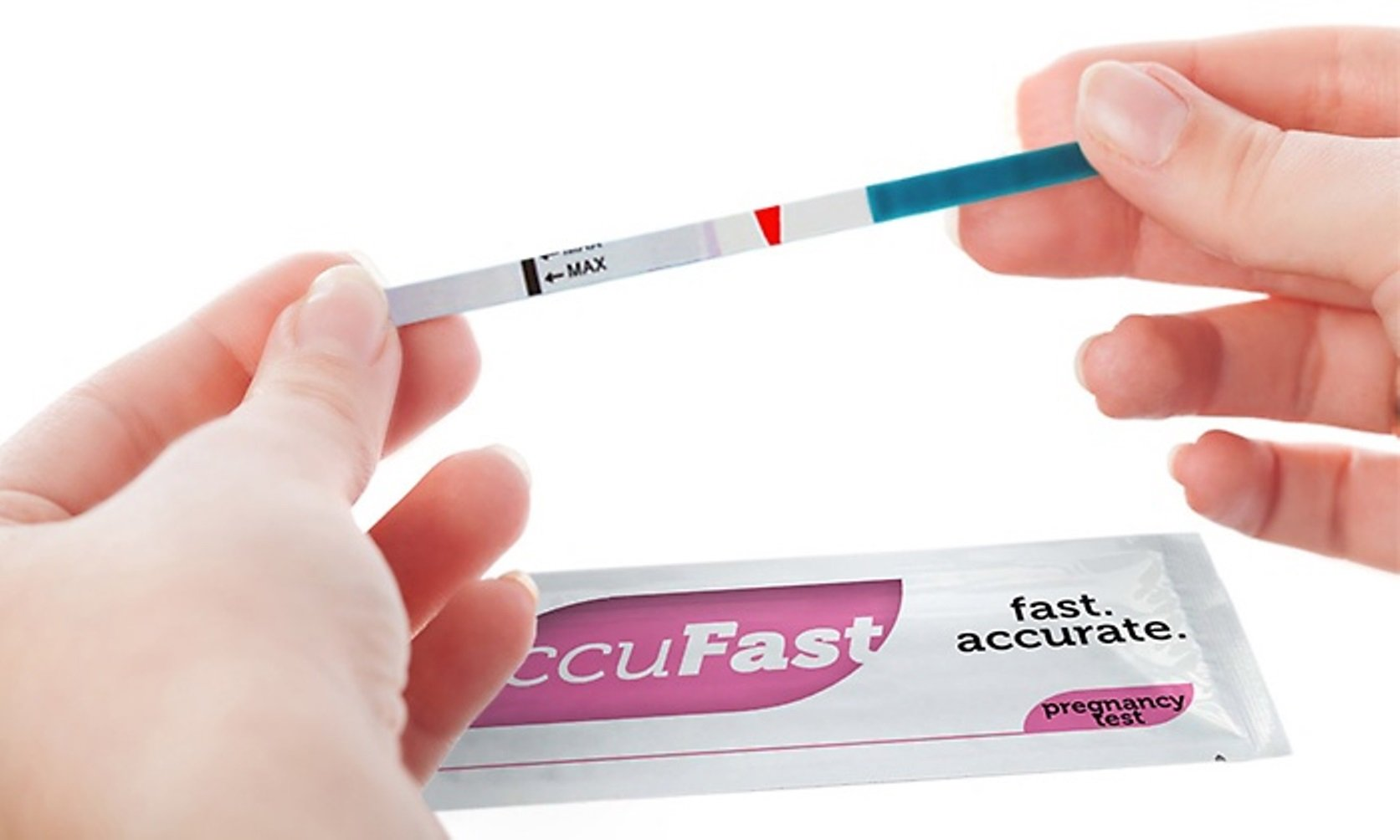 Pregnancy (HCG) Test Strips by AccuFast® - Package of 20