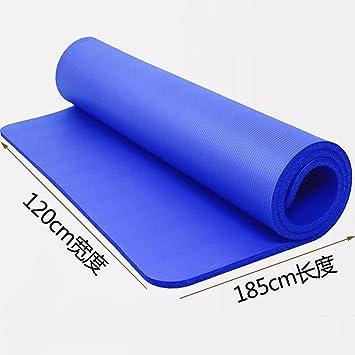 MDRW-Amantes del Yoga Doble Mat Pilates Yoga Ensanchado ...