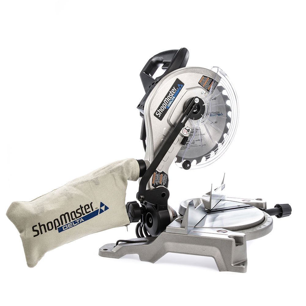 Delta S26-260L Shopmaster 10 In. Miter Saw with Laser, Sliver by Delta (Image #7)