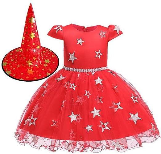 HS-ZM-06 Halloween Estrellas Falda del Vestido 0-8Y De La Falda ...