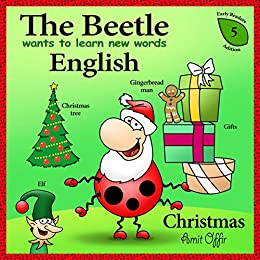 christmas for kids christmas vocabulary the beetle wants to learn new words in english