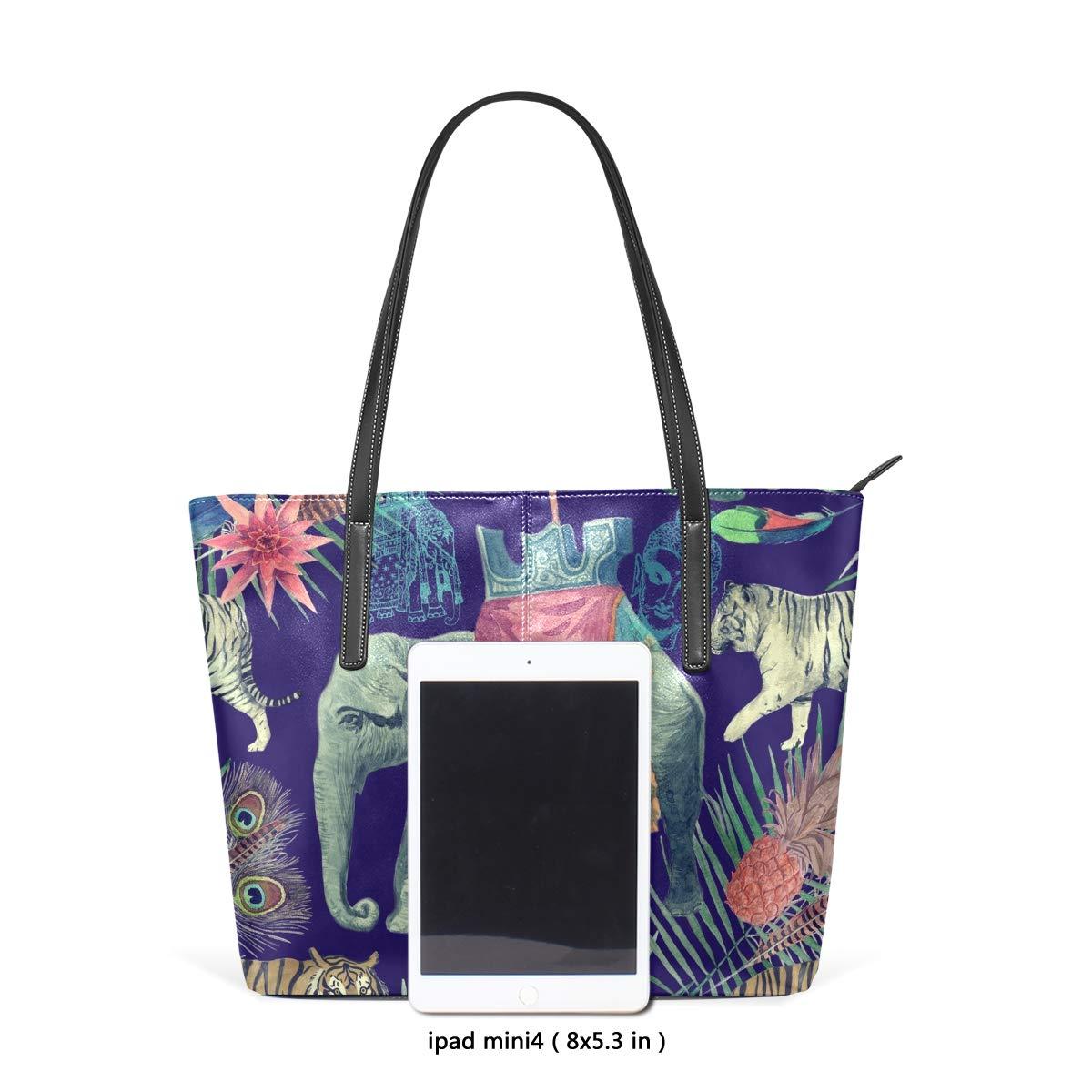 AMONKA , Damen Tote-Tasche Tote-Tasche Tote-Tasche Mehrfarbig mehrfarbig Large B07Q12RFG7 Shopper Feines Nähen 3e0441
