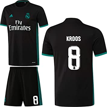 promo code 41fd6 1512f Adidas Real Madrid FC Away Kit 2017 2018 with Player's name ...
