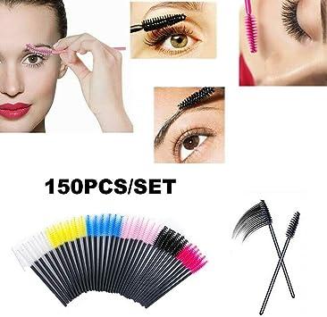 GK 150PCS Máscara de Varilla desechable, aplicación de Tinte ...
