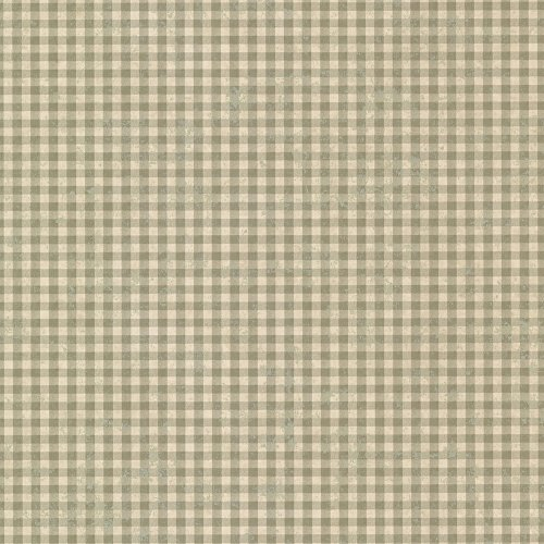 - Chesapeake CTR44016 Greer Sage Gingham Check Wallpaper