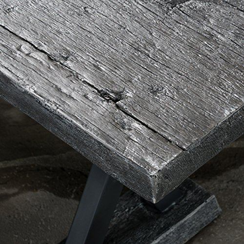 Lavelle Grey Magnesium Dining Table