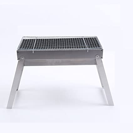 WLHW Planchas eléctricas BBQ Grill Outdoor Barbecue Carbón ...