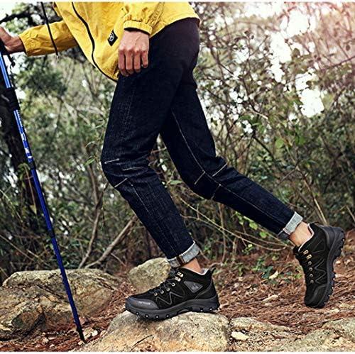 レースアップ ハイキングシューズ メンズ ハイカット キャンプシューズ 防滑 遠足靴 蒸れない レジャー 野外 軽量 防水 防泥 防汗 旅行用 アウトドア 通勤用旅行 キャンプ ピクニック 抗菌 カジュアル 登山靴
