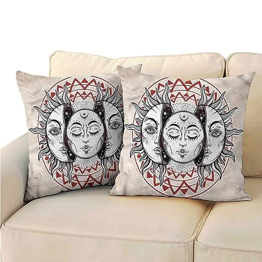 RuppertTextile Moon Creative - Funda de Almohada con diseño ...