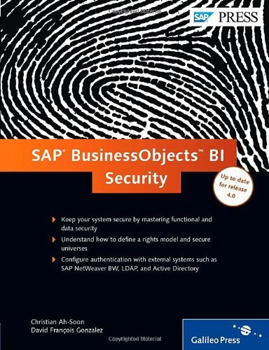 By Christian Ah-Soon SAP BusinessObjects BI Security (1st Frist Edition) [Hardcover]