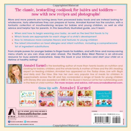 the healthy baby meal planner 200 quick easy and healthy recipes