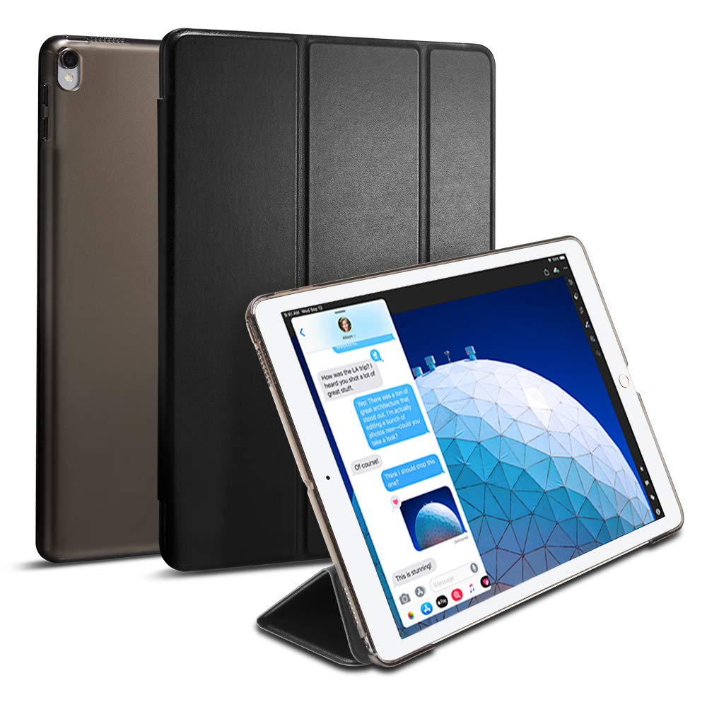 reputable site 88401 eeb8e Spigen Smart Fold Designed for iPad Air 3 Case (10.5 inch 2019), iPad Pro  10.5 Case (2017) - Black