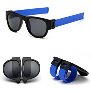 3edd5b72a7 Amazon.com  Doober Slap Sunglasses Fashion Creative Wristband ...