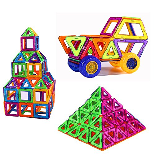 Amazon Lightning Deal 96% claimed: PlayMaty Magnetic Building Blocks Toys 36 Piece Similar Building Toys Playing Magnetic Toy Bricks