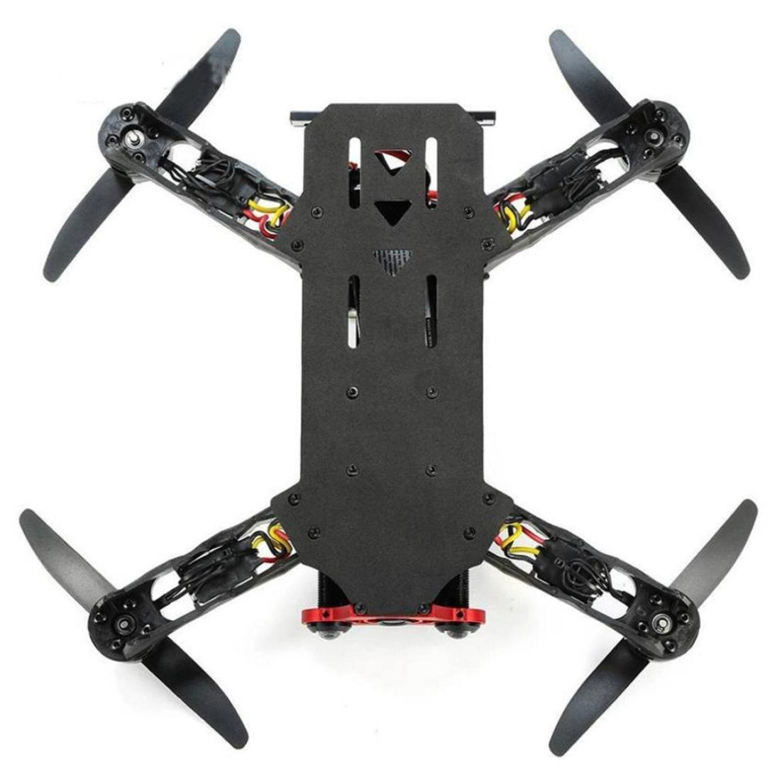 Dreamyth Durable Eachine Racer 250 FPV Drone F3 NAZE32 CC3D I6 2.4G 6CH VTX RTF RC Quadcopter (Black)