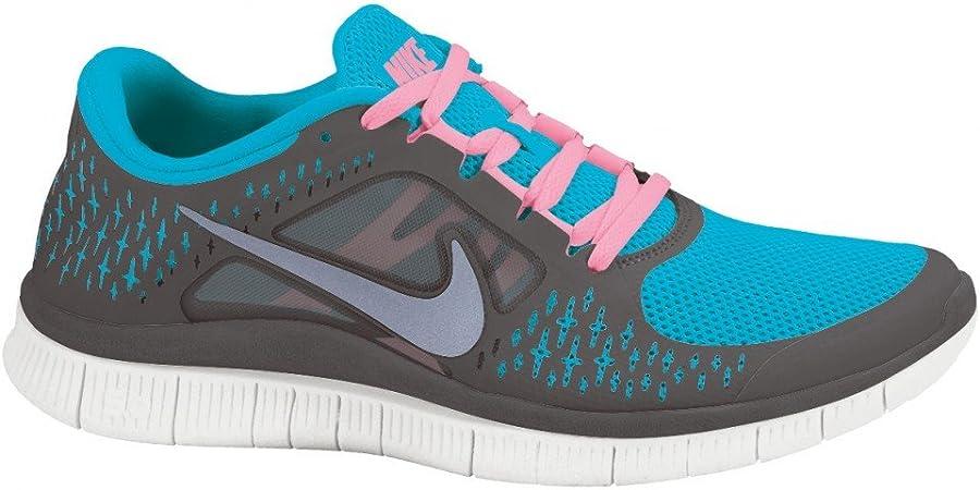 Nike Free Run + 3 Turquoise 510642 406, Color, Talla 47: Amazon.es: Zapatos y complementos
