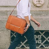 Temporary Forevers Leather Bag with Wallet Laptop