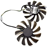 inRobert DIY Graphic Card Cooler Fan for ZOTAC GeForce GTX 1080 Ti AMP Edition GPU ZT-P10810D-10P