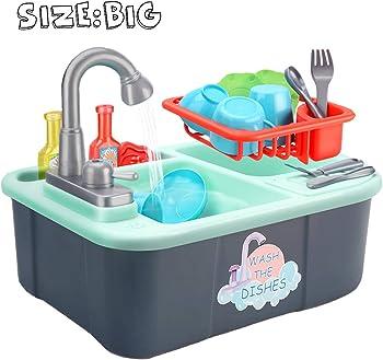 Wowok Play Kitchen Sink Toys
