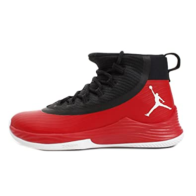 7c2352c429109e ... new style nike mens jordan ultra fly 2 university red white black 7  9188a 48859