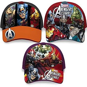 c77b82e196969 Gorra Vengadores Avengers Marvel surtido  Amazon.es  Deportes y aire libre