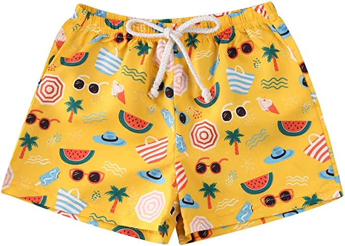 2019 Baby Boy Kids Toddler Beach Shorts  Swimwear Swimsuit Swimming Pant Trunks