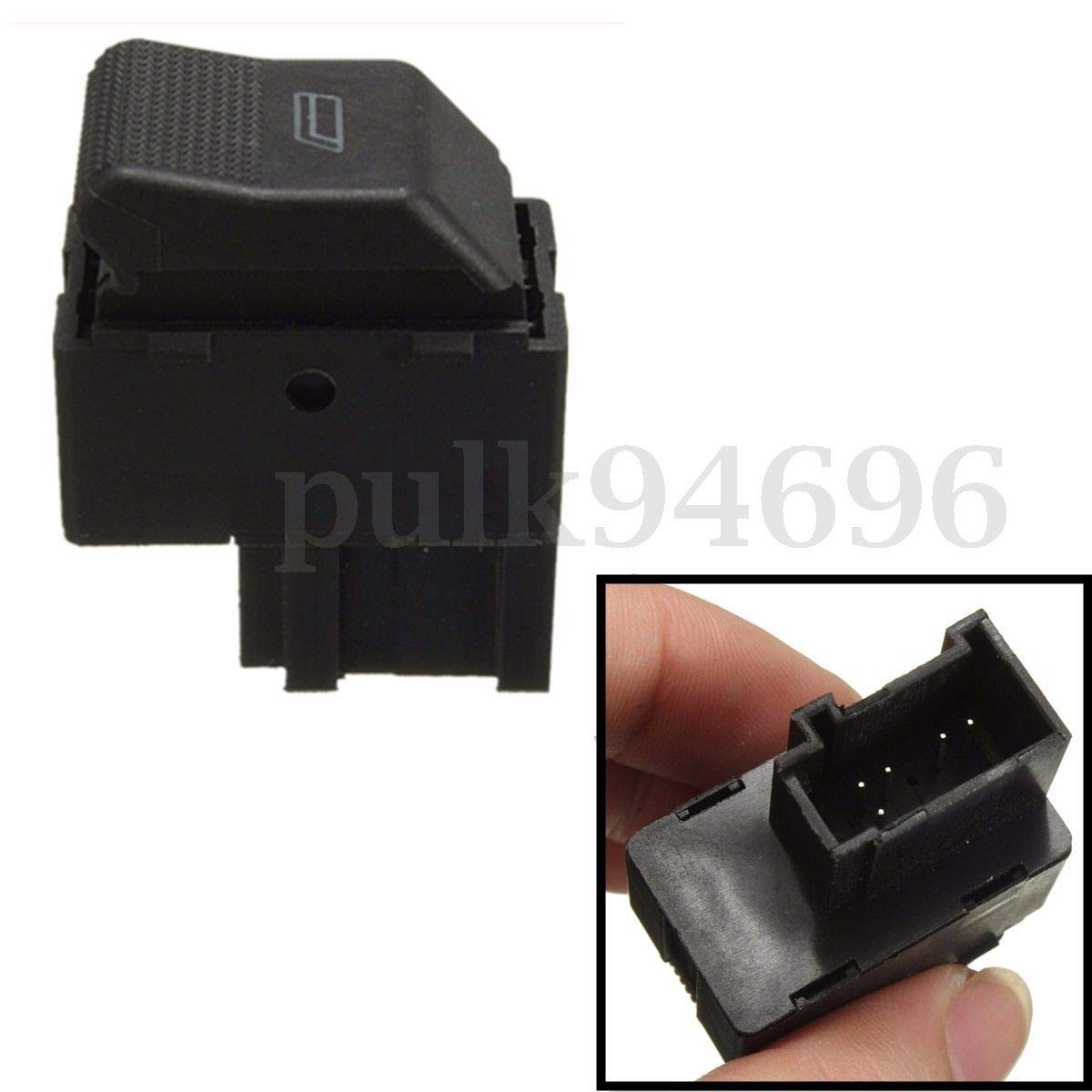 Bomcomi Universal Car elettrica di Controllo della Finestra Interruttore di Ricambio per Button Polo Lupo di Controllo Singola 6X0959855B