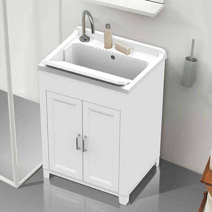 Lavatoio lavello in resina doppia anta 60x50cx altezza 85 cm ...