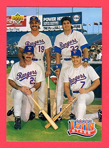 Amazon.com: Texas Rangers 1993 Upper Deck **Borderless ...
