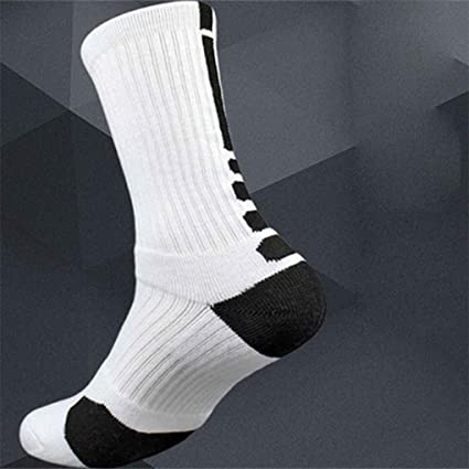 Bobury Thicken Towel Men Socks Sport Baloncesto Profesional Elite Sock Basketbal Calcetines de Deporte Ciclismo Calcetines