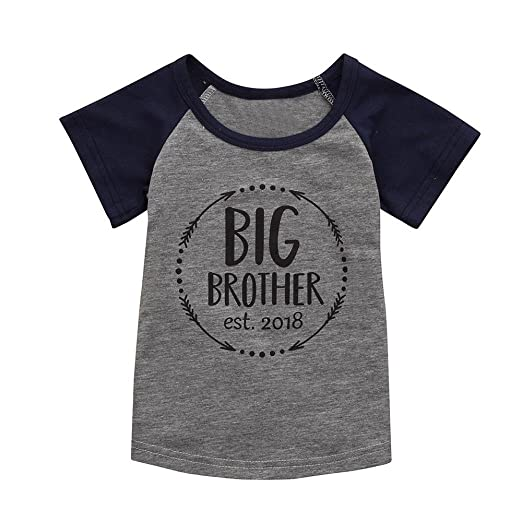 27d6c0e5cd54 Amazon.com  Lurryly 2019 Baby Boy Printing T-Shirt Cotton Short ...