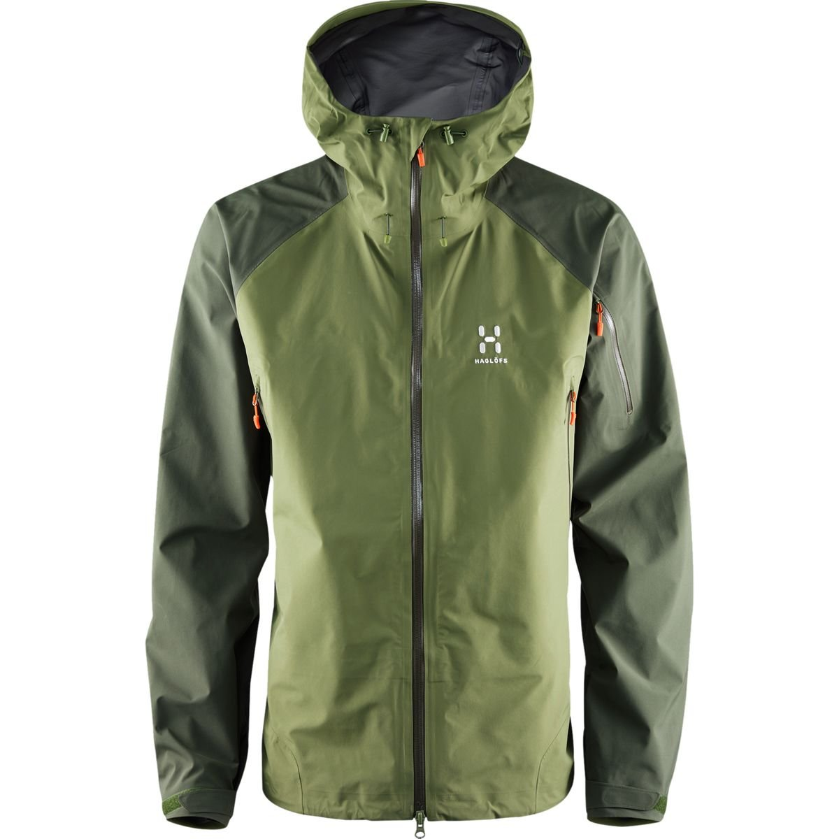 (ホグロフス)HAGLOFS ROC SPIRIT JACKET MEN 603474 [メンズ] B01L0QWMN0 EU M-(日本サイズL相当)|JUNIPER/NORI GREEN JUNIPER/NORI GREEN EU M-(日本サイズL相当)