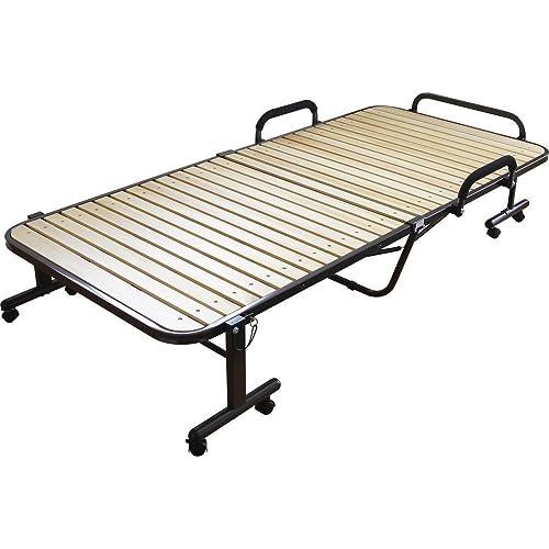 アイリスオーヤマ ハイタイプ折りたたみすのこベッド