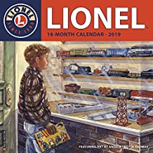 Lionel 2019 Wall Calendar