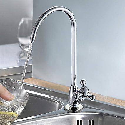 Kaiying Reverse Osmosis Faucet Water Filter Faucet Kitchen Bar Sink Drinking Water Faucet Commercial Filtered Water Faucet Fits Most Water Filtration