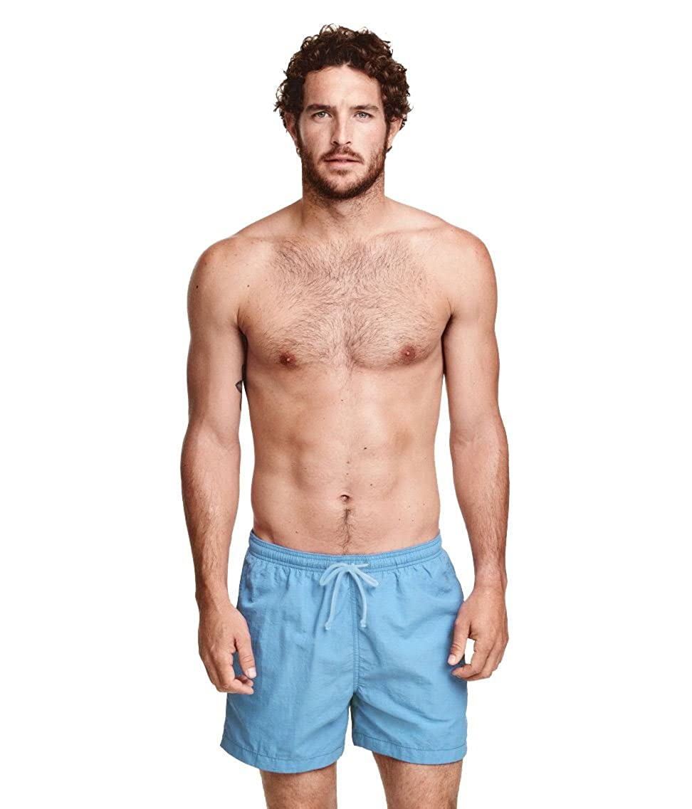 20941f29ac29 Amazon.com  Mens Ex H M Summer Beach Bottoms Swimming Shorts Activewear  Surf Board  Clothing