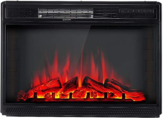 Amazon Com Amerlife Electric Fireplace Insert 28 Freestanding