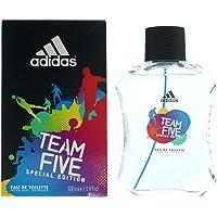 Adidas Team Five Eau de Toilette for Men 100ml