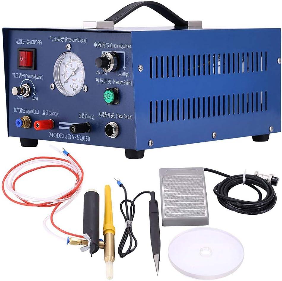 MXBAOHENG Soudeuse par Points /à Largon Puls/é 0,5-3 mm Machine de Soudage Bout /à Bout DX-50A-1 400W pour Gold Silver Platinum Machine de Soudage par Points au Laser 220V