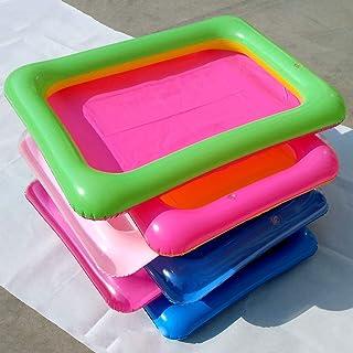 Honey MoMo Puzzle e Magic Cubes, Summer Beach Bambini Divertimento Gioco PVC Gonfiabile Sandbox Sandbox Sensory Toy per Bambini e Ragazzi Ragazzi e Ragazze- Colore Casuale