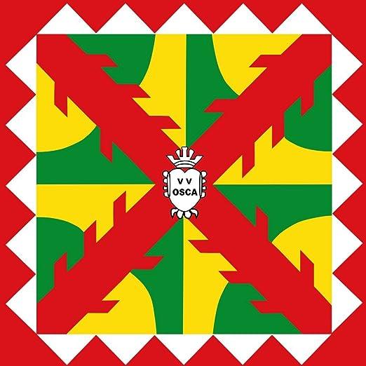 magFlags Bandera Large Huesca Aragón | 1.35m² | 120x120cm: Amazon ...