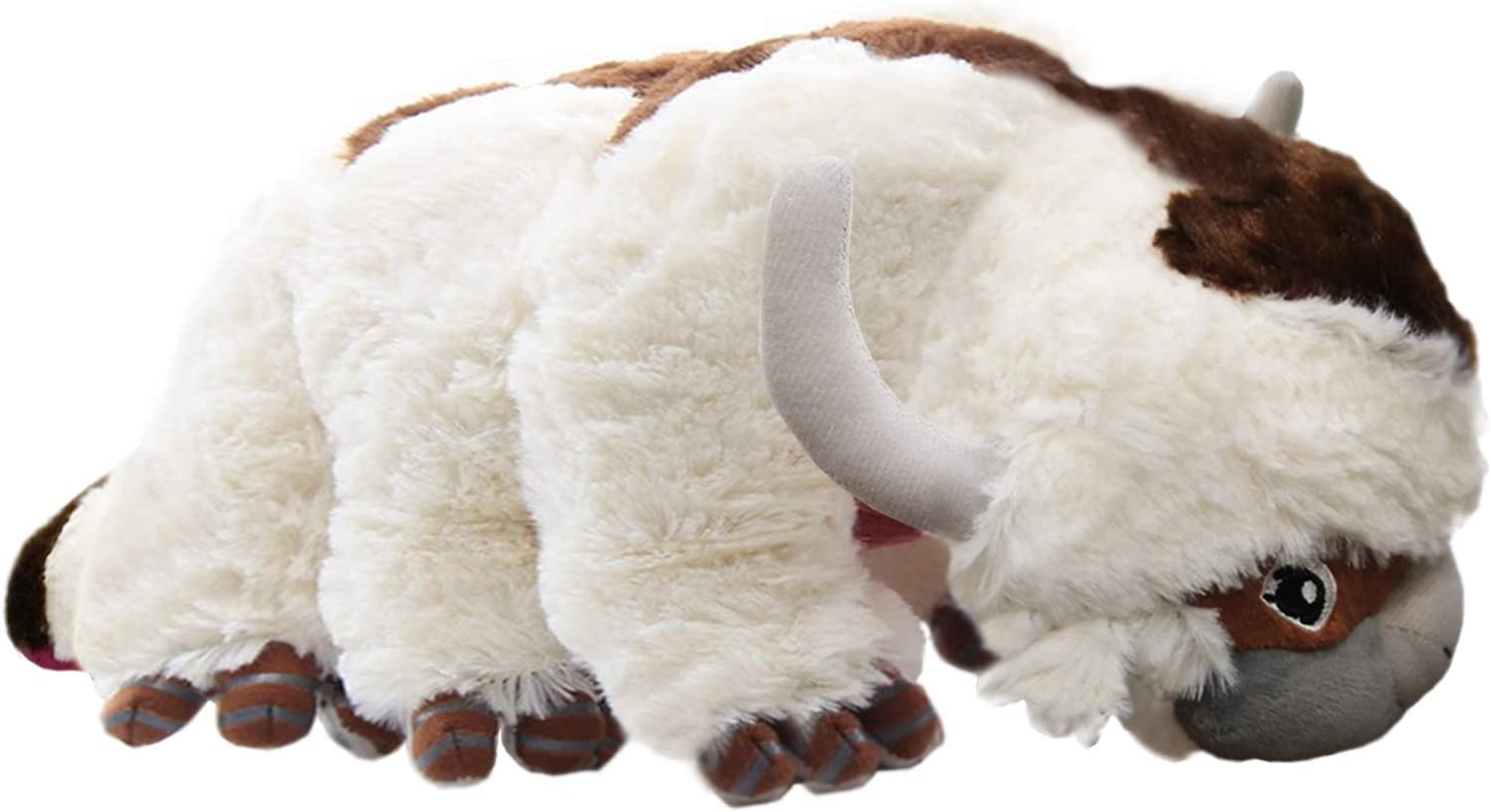 JoeRita Cow Plush Stuffed Dolls Child Home Sofa Decor Cattle Doll Pillow Cushion Toy for Birthday Party 17 inches (M)