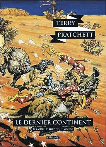 Les annales du disque monde (22) : Le dernier continent