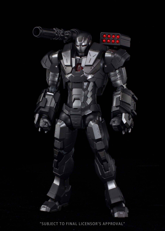 RE: EDITAR IRON MAN  04 La maequina de guerra no escala ABS y ATBC-PVC y fundido a presioen pintado figura de accioen