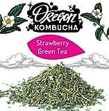 Kitchen & Housewares : Oregon Strawberry Green Tea Bag (1 ounce)