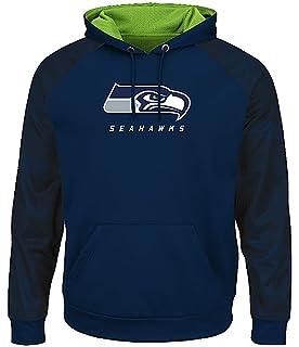 6f65febf4c0c Amazon.com   NIKE Men s Seattle Seahawks College Navy Sideline ...