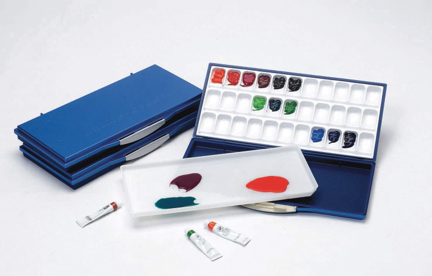Martin Mijello Airtight Leak Proof Fusion Watercolor 33-Well Palette by Mijello