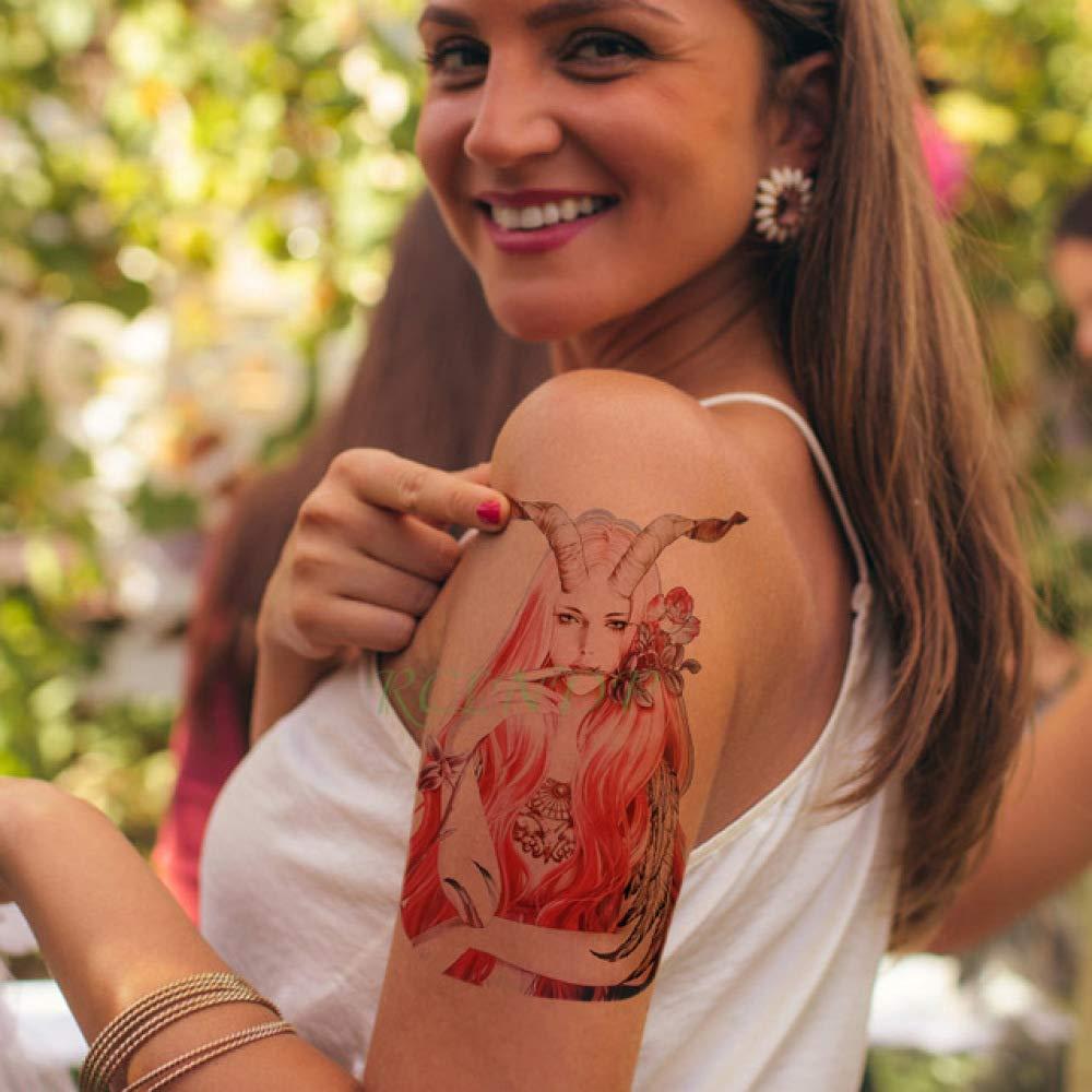 Modeganqing 8 Unidades Etiqueta engomada del Tatuaje a Prueba de ...