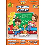 img - for Spelling Puzzles, Grades 1-2 (School Zone's I Know It!) book / textbook / text book