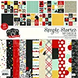 Simple Stories Single-Sided Paper Pad 12''X12'' 48/Pkg-Say Cheese III, 24